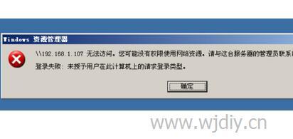 无法访问 您可能没有权限使用网络资源.jpg