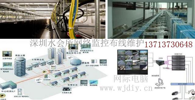 深圳罗湖区东门美食水疗会所网络监控布线维护.jpg