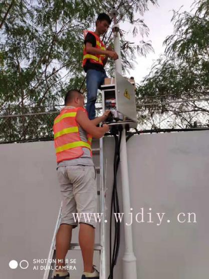 深圳动车运用所外围墙网络监控安装调试.jpg