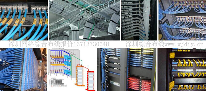 深圳网络综合布线报价多少钱一个点位-综合布线报价