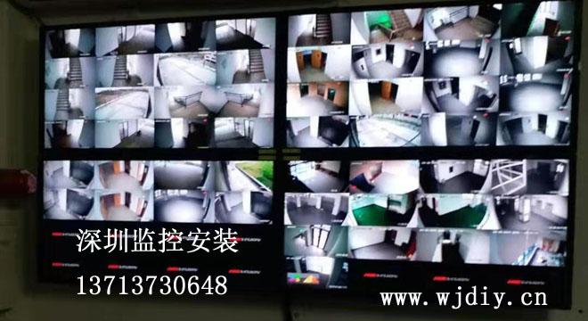 深圳监控工程公司,监控系统工程施工,弱电安装监控工程