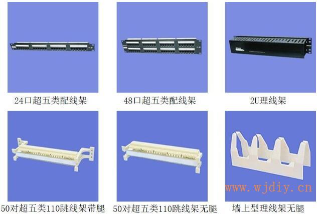 综合布线系统中双绞线配线架与综合布线系统中光纤终端盒.jpg