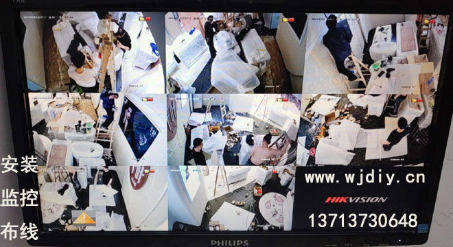 深圳市南山区海雅缤纷广场商铺安装监控工程布线.jpg