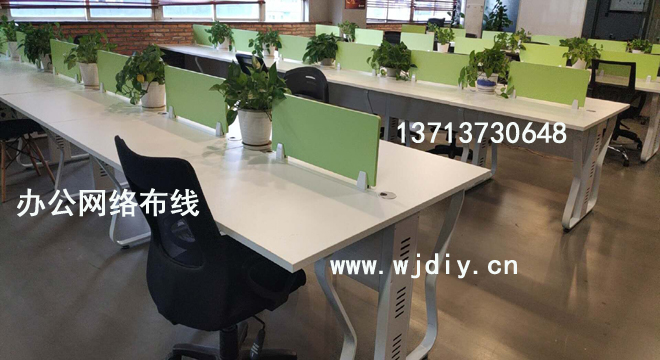 优城商务大厦l办公室布网线;同胜科技大厦综合布线.jpg