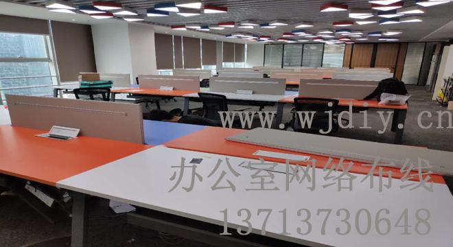 深圳车公庙天济大厦公司办公室网络布线 网线 电话线.jpg