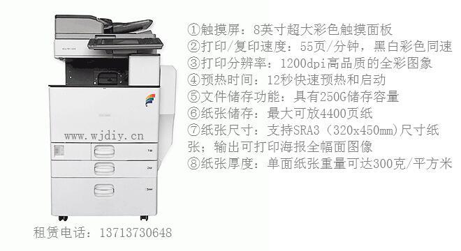 深圳南山长虹科技大厦某办公室理光彩色复印机租赁.jpg