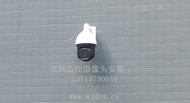 如何安装摄像头在工业区内 视频监控摄像头安装过程.jpg