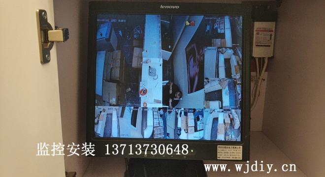 深圳南山区西丽益田假日里千叶珠宝店网络摄像头安装.jpg