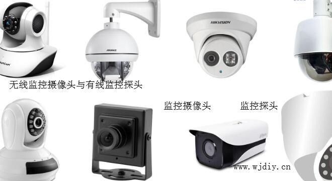 无线监控摄像头与有线监控探头区别都是摄像头监控产品.jpg