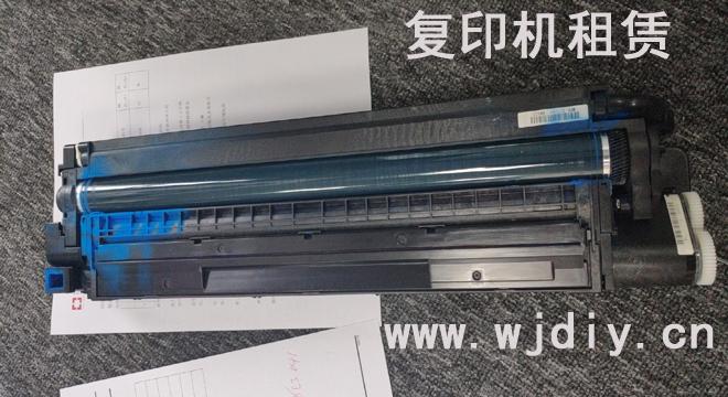 理光C3503复印打印彩色有绿细线条 打印复印黑色没问题.jpg
