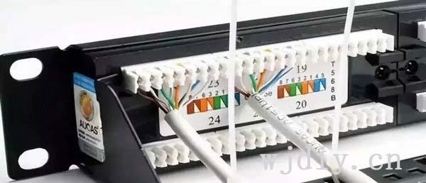 网络配线架有什么用? 网络配线架打线步骤.jpg