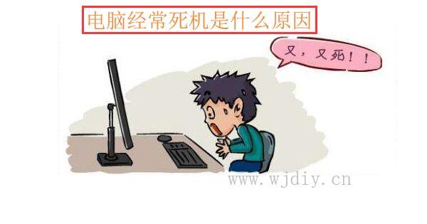 电脑经常死机是什么原因?用排除法维修电脑经常死机问题.jpg