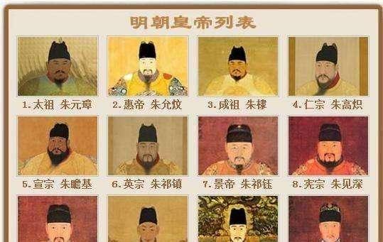 明朝皇帝顺序列表 明朝皇帝顺序列表时间关系.jpg