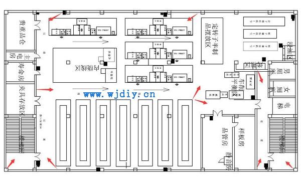 深圳工厂公司办公区16路内监控系统设计方案图.jpg