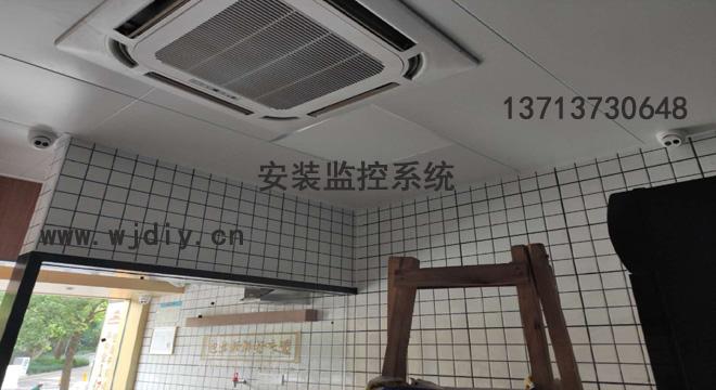 深圳福田区包道广式点心专门店安装监控系统-背景音乐系统安装.jpg