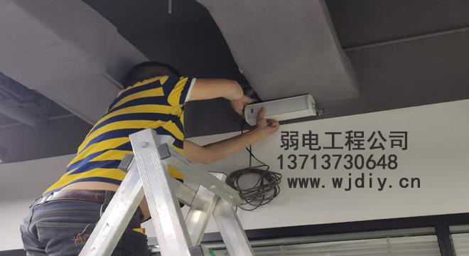 深圳龙岗区星河world-G栋办公区网络监控门禁音响工程施工