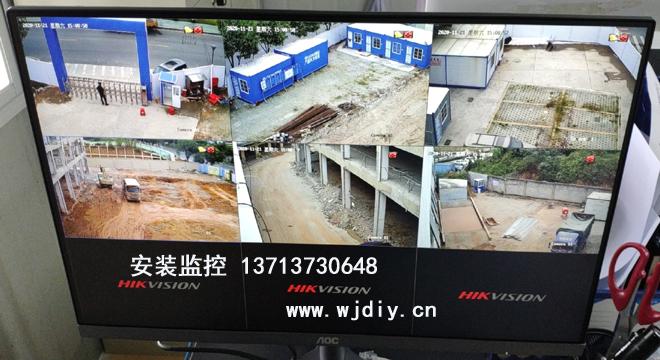 深圳光明区温泉酒店项目改造工地临时网络监控安装.jpg