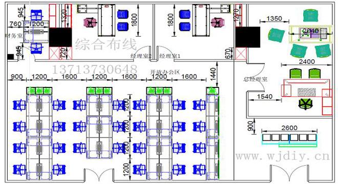 深圳企业网络布线结构图 南山办公网络设备布线架设公司.jpg