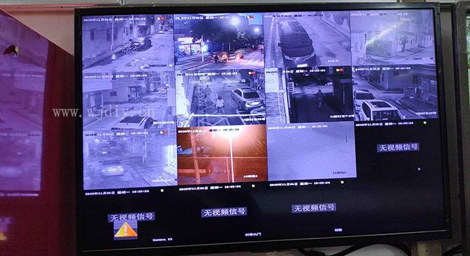 安防监控系统安装后调整 摄像头安装之后自己怎么设置.jpg
