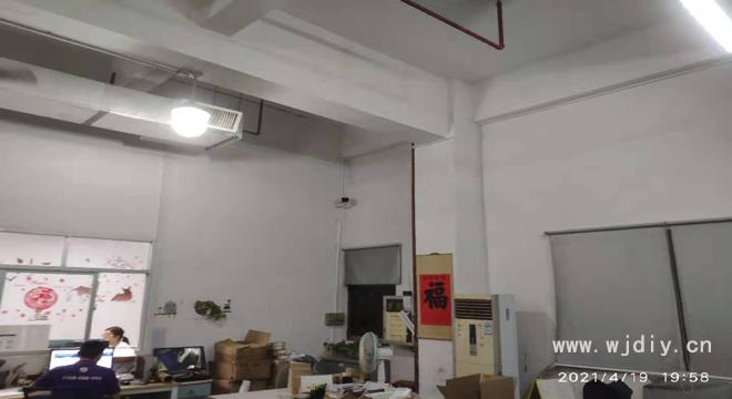 深圳市宝安区塘尾聚源工业园A3栋3楼仓库网络监控安装.png