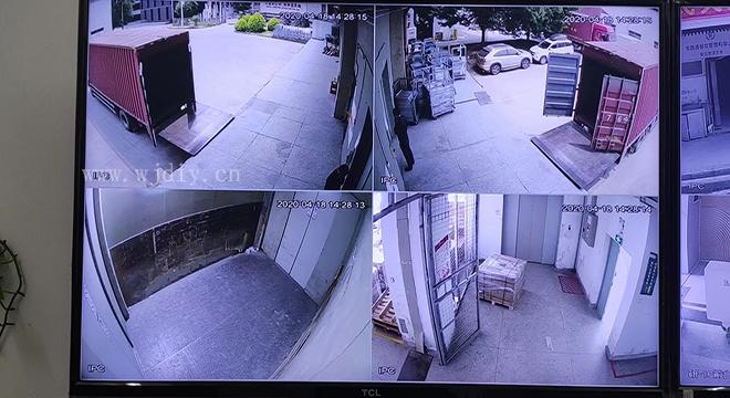 深圳公园南路附近安装监控
