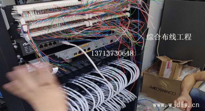 深圳区域布线施工 办公卡位网线 公司写字楼弱电综合布线.jpg