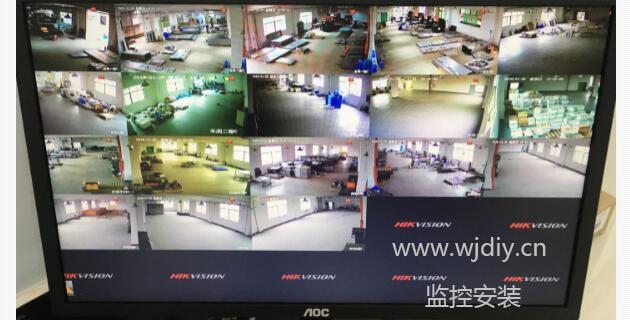深圳龙岗区物流园仓库视频监控系统安装 智能手机网络监控.jpg